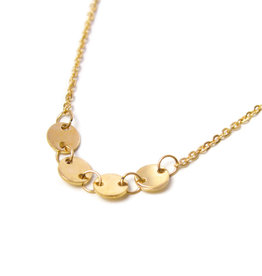 Label kiki label kiki Round necklace gold