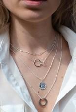 Label kiki label kiki Rewind necklace gold