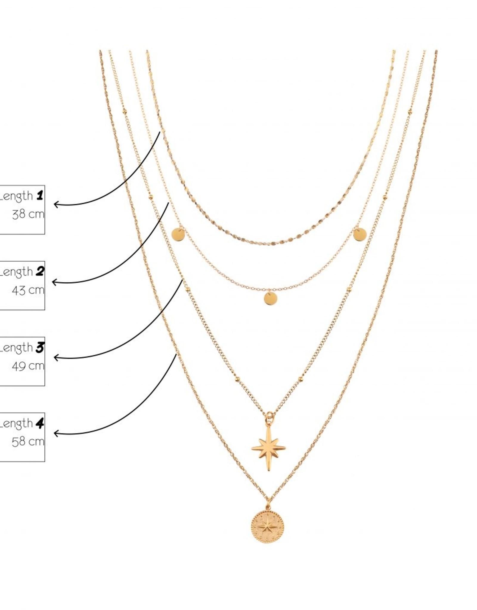 Label kiki label kiki hook up necklace silver