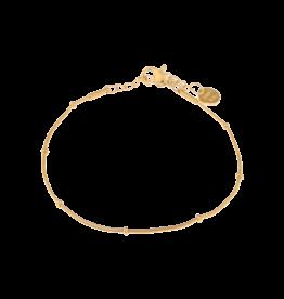 Label kiki label kiki bracelet mini dot chain gold