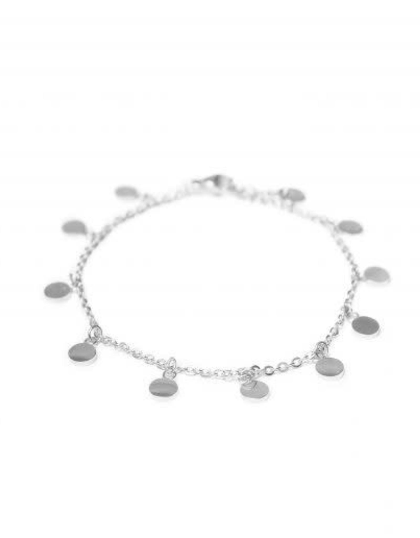 Label kiki label kiki bracelet mini label silver
