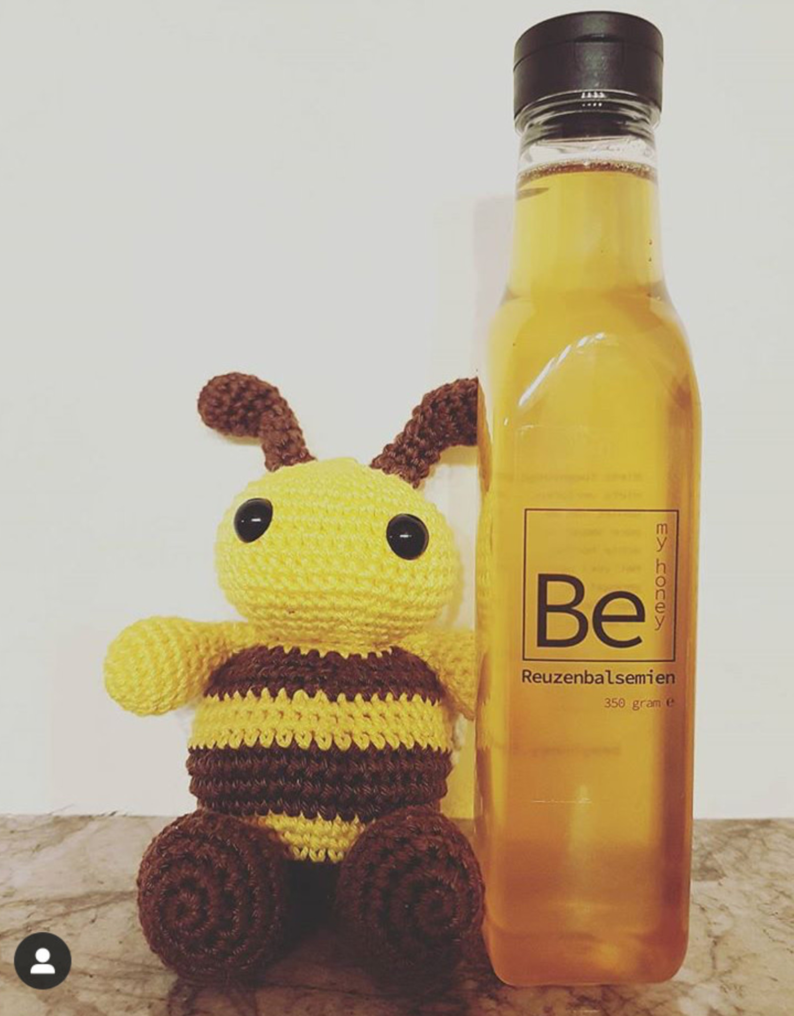Be my honey Be my honey vloeibaar reuzenbalsemien fles 350 gr