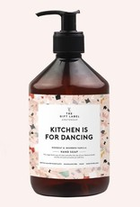 the gift label the gift label handzeep Kitchen is for dancing