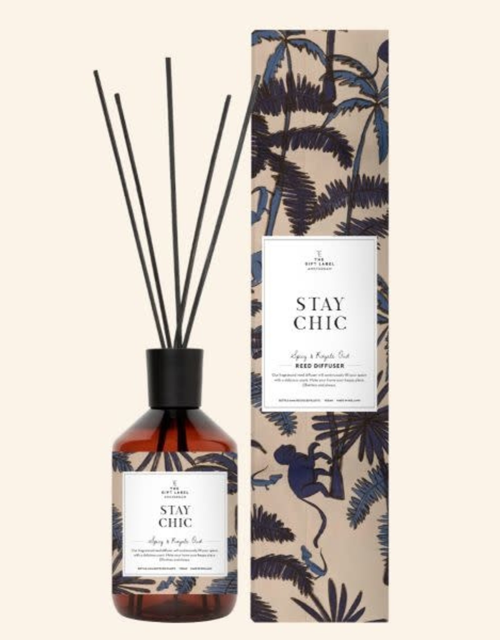 the gift label the gift label: geurstokjes Stay chic (spicy and royal oud)
