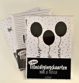 Van Mariel van mariel uitnodigingen ballonnen