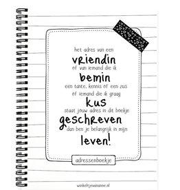 Winkeltje van Anne Winkeltje van Anne adresboekje