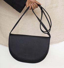 Monk & Anna Monk & Anna Soma half moon bag black