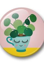 studio inktvis studio inktvis button 32 mm pannenkoekenplant