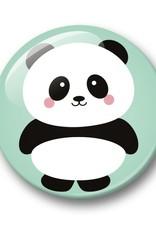 studio inktvis studio inktvis button 32 mm panda