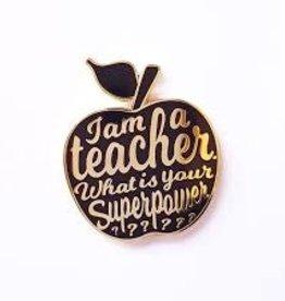 studio inktvis studio inktvis pin I am a teacher
