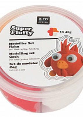rico design rico design Super fluffy grappige diertjes haan