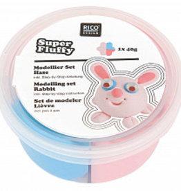 rico design rico design Super fluffy grappige diertjes haas