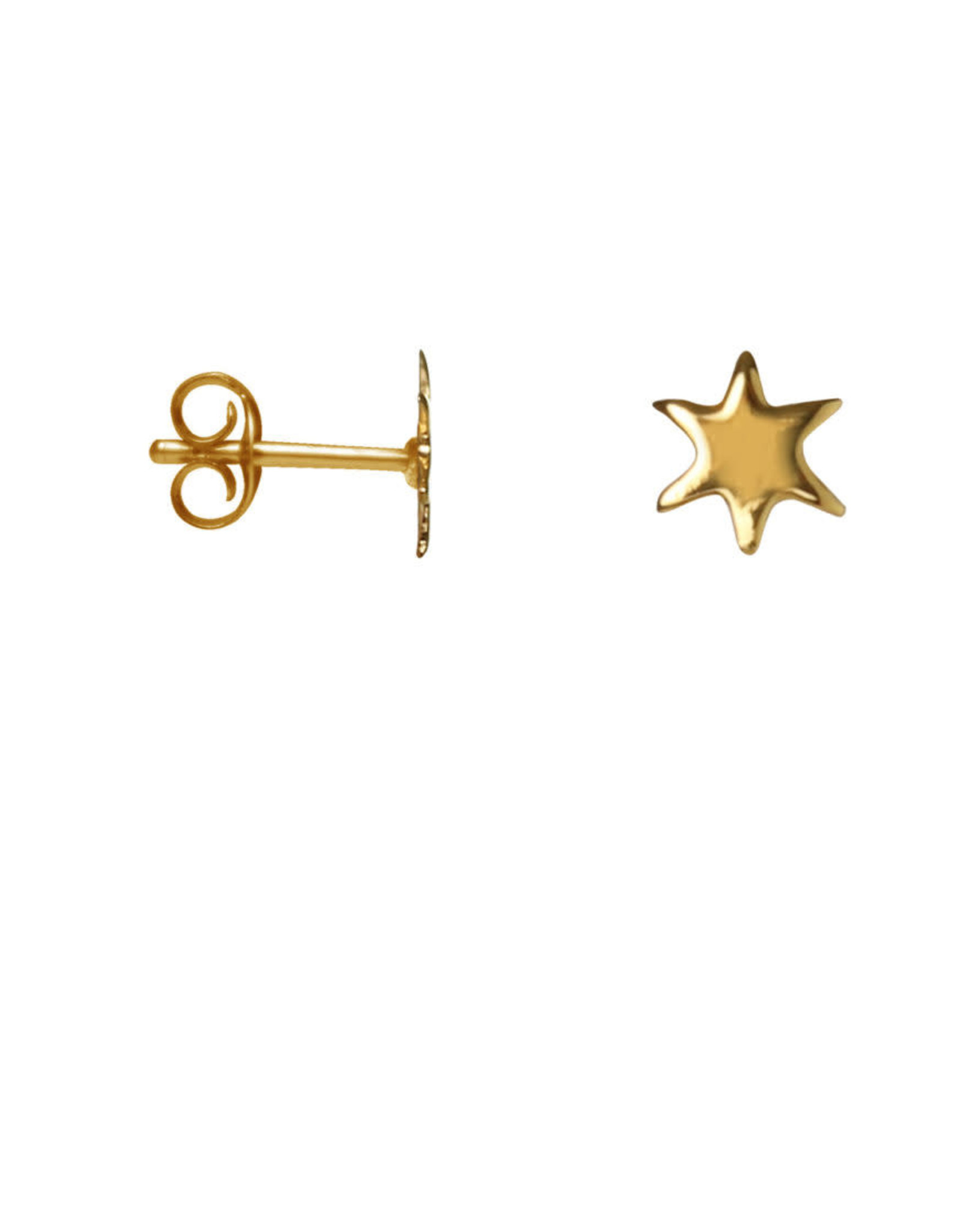 Label kiki Label kiki earring mini star gold