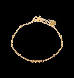 Label kiki label kiki bracelet triple eye gold
