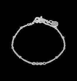 Label kiki label kiki bracelet triple eye silver