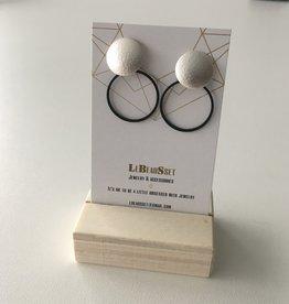 Lebeausset Lebeausset 050 hangers zilverkleurig en zwart
