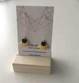 Lebeausset Lebeausset 051 hangers goudkleurig en donkerblauw