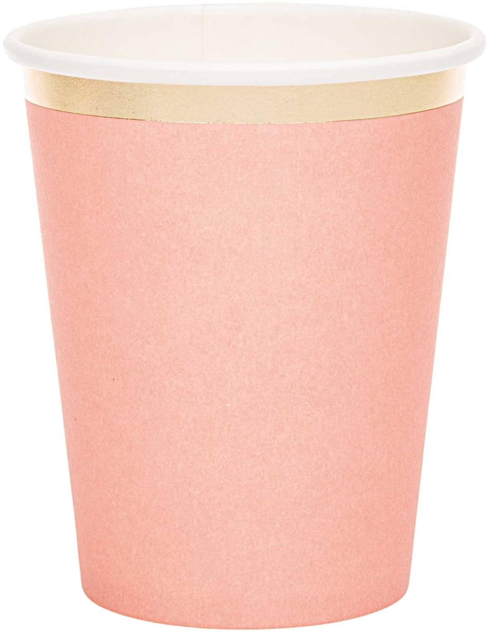 rico design rico design kartonnen bekers roze en goud
