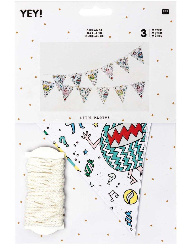 rico design rico design slinger happy birthday monster party