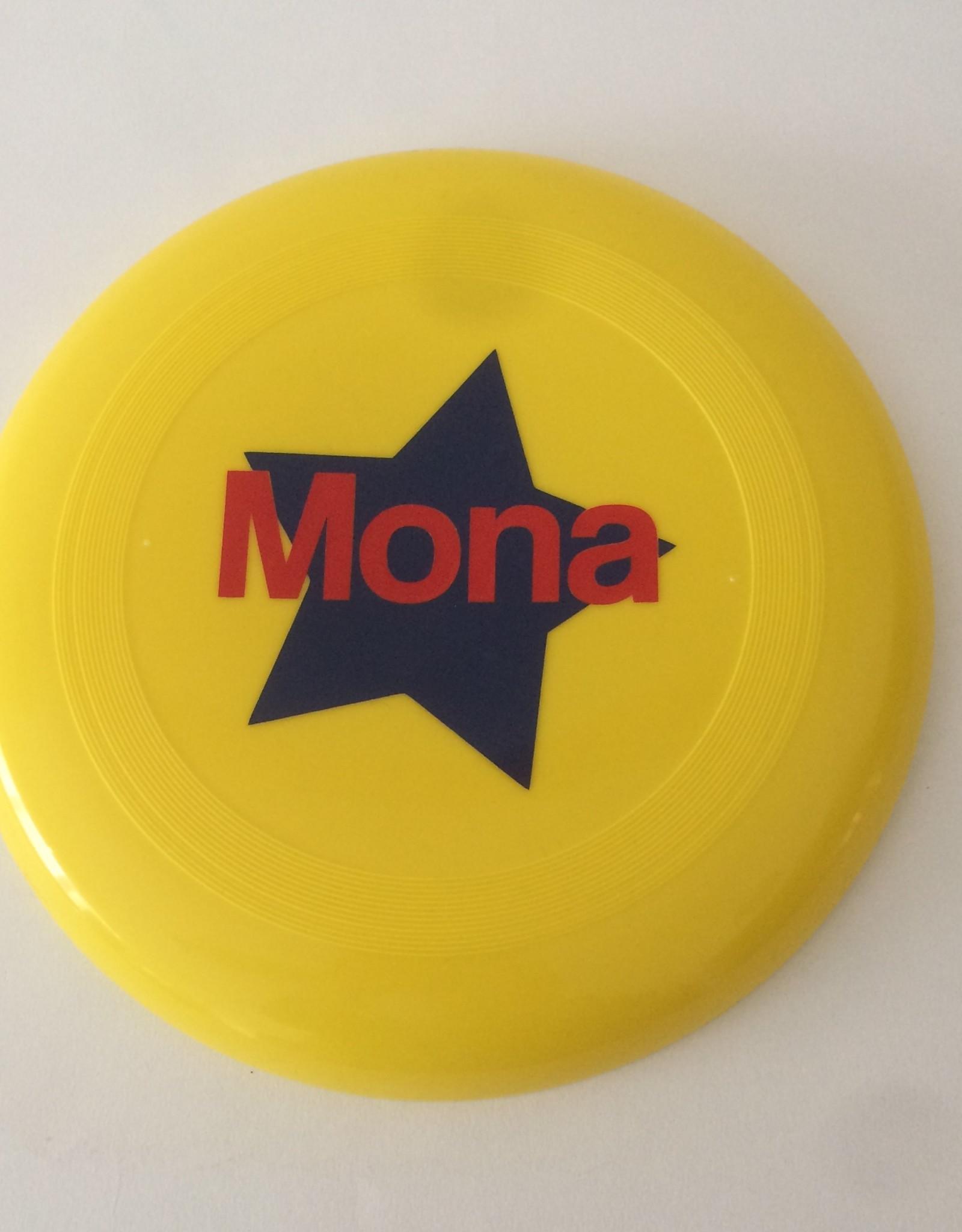 gepersonaliseerde frisbee geel