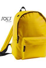 gepersonaliseerde rugzak geel