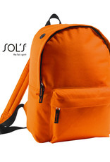 gepersonaliseerde rugzak oranje