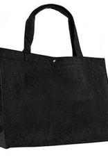 gepersonaliseerde vilten tas klein zwart