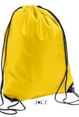 gepersonaliseerde zwemzak geel