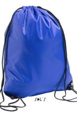 gepersonaliseerde zwemzak blauw