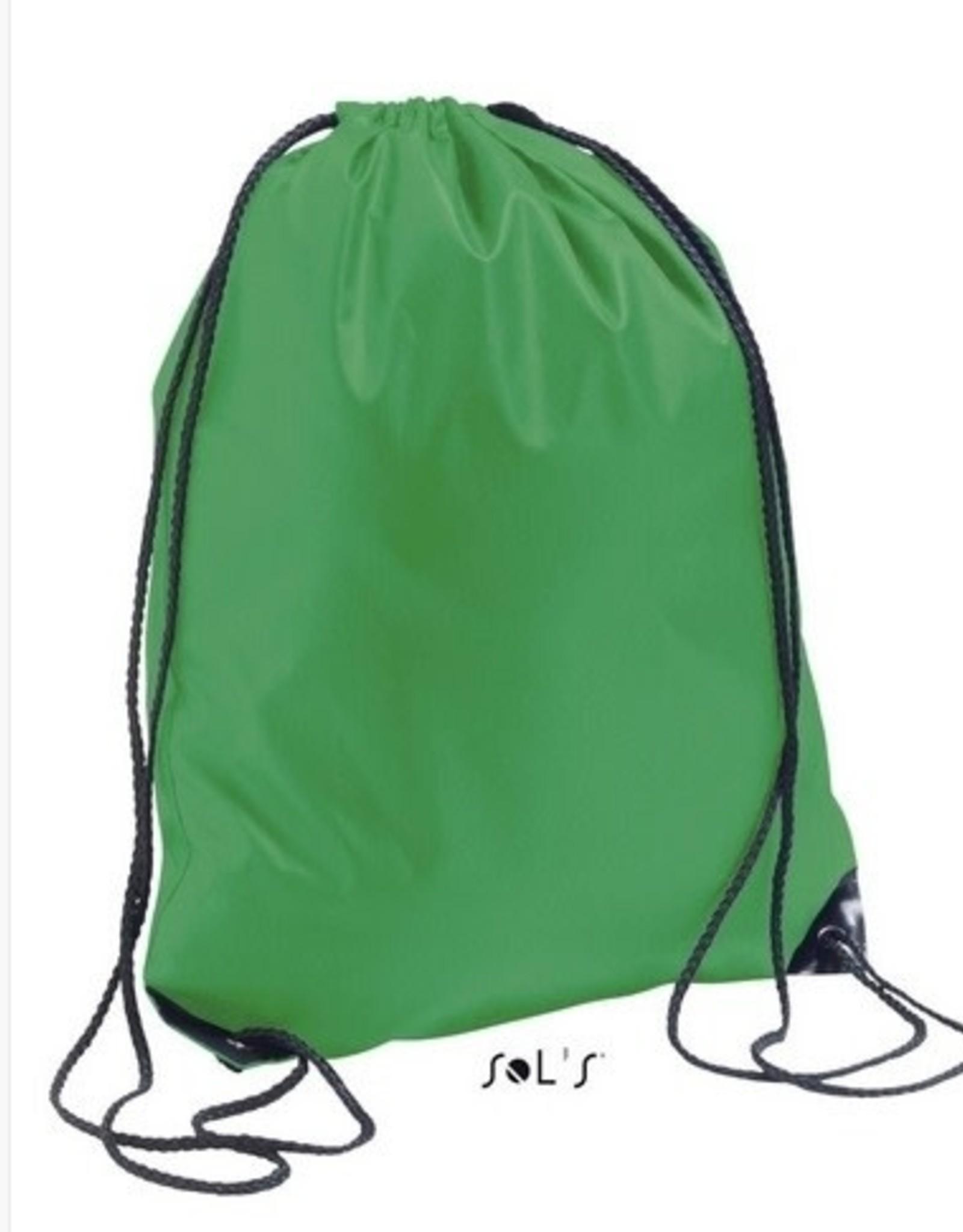gepersonaliseerde zwemzak groen