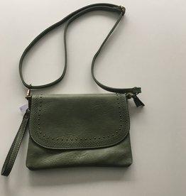 zaza's gekleurde handtas groen