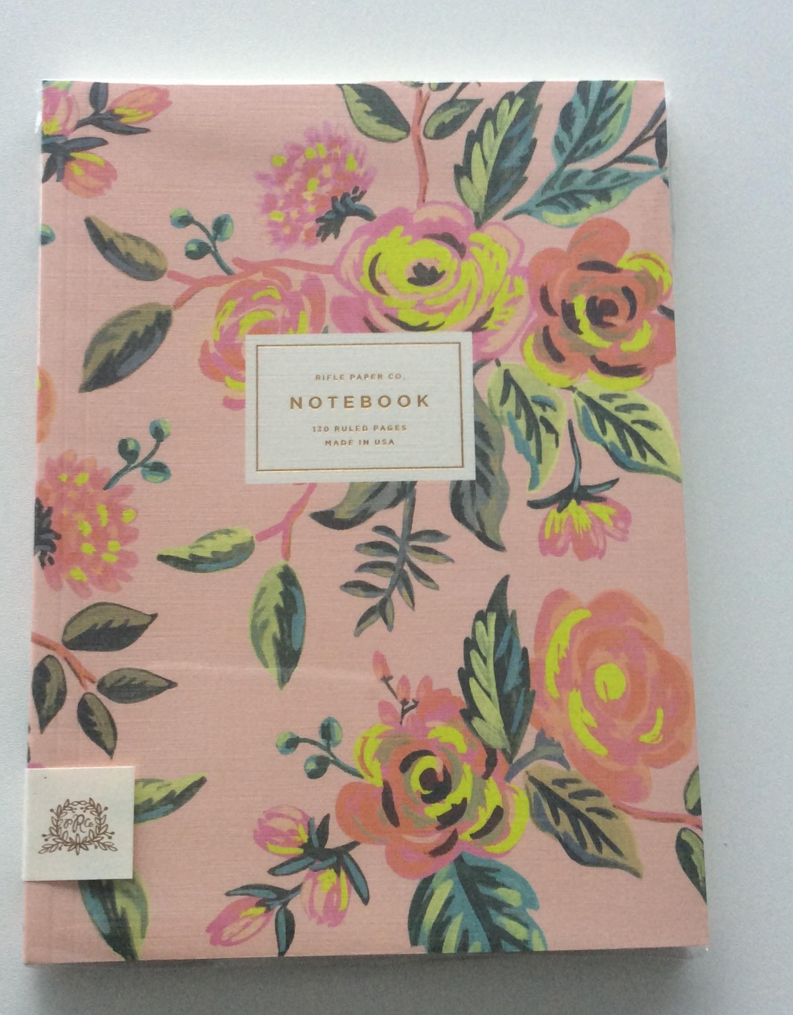 rifle notebook Vintage Blossoms A5