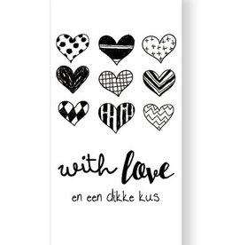 Jots Jots chocola With love en een dikke kus