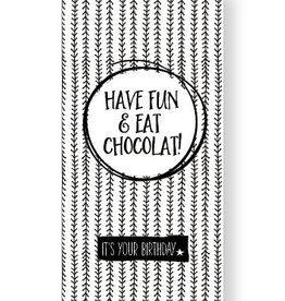 Jots Jots chocola Have fun & eat chocolat