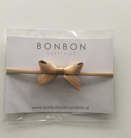 bonbon bon bon kids haarband strik roségoud