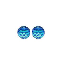 made by ellen Made by ellen 117 stekers zeemeermin blauw