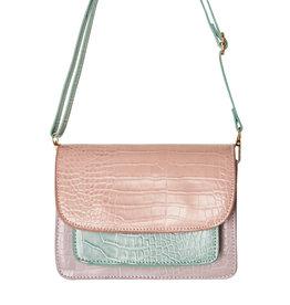 Yehwang Yehwang Tas Glamour roze/munt/lila