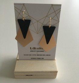 Lebeausset Lebeausset 073 hangers zwart en goudkleurig