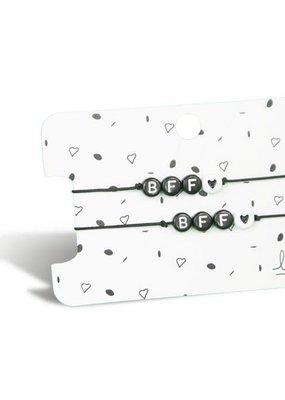 Lief label Lief label 2 armbandjes BFF