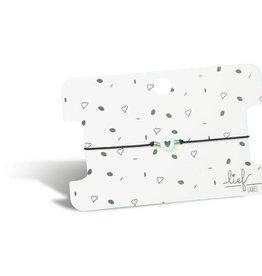 Lief label Lief label 1 armbandje hartje