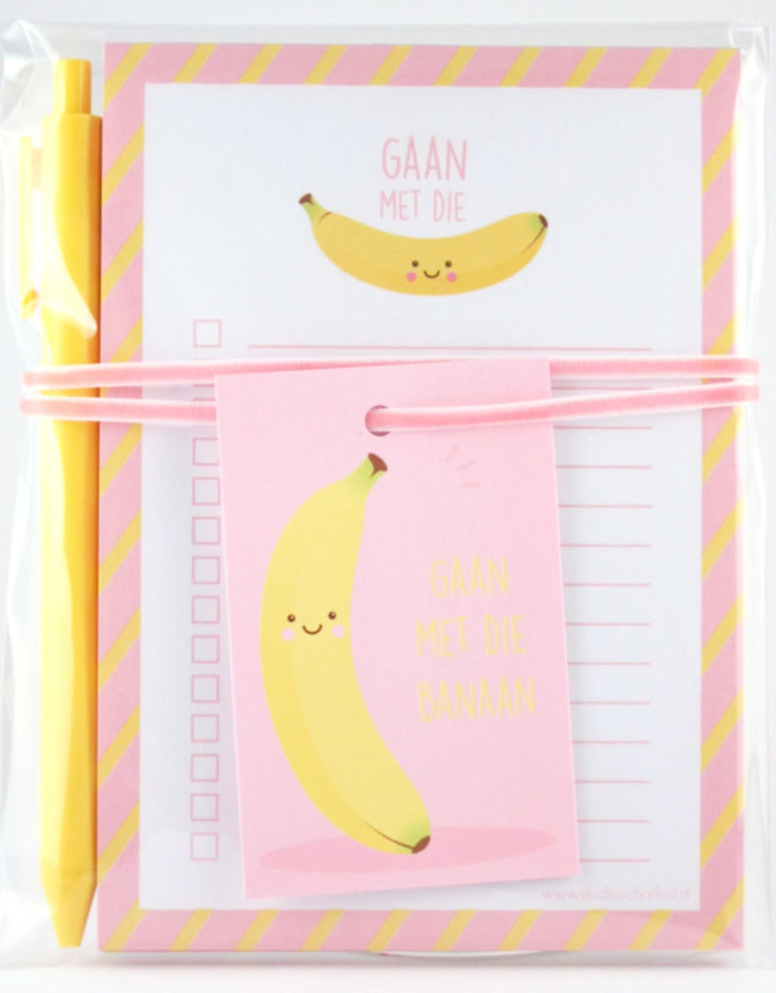 studio schatkist studio schatkist kadoset gaan met die banaan