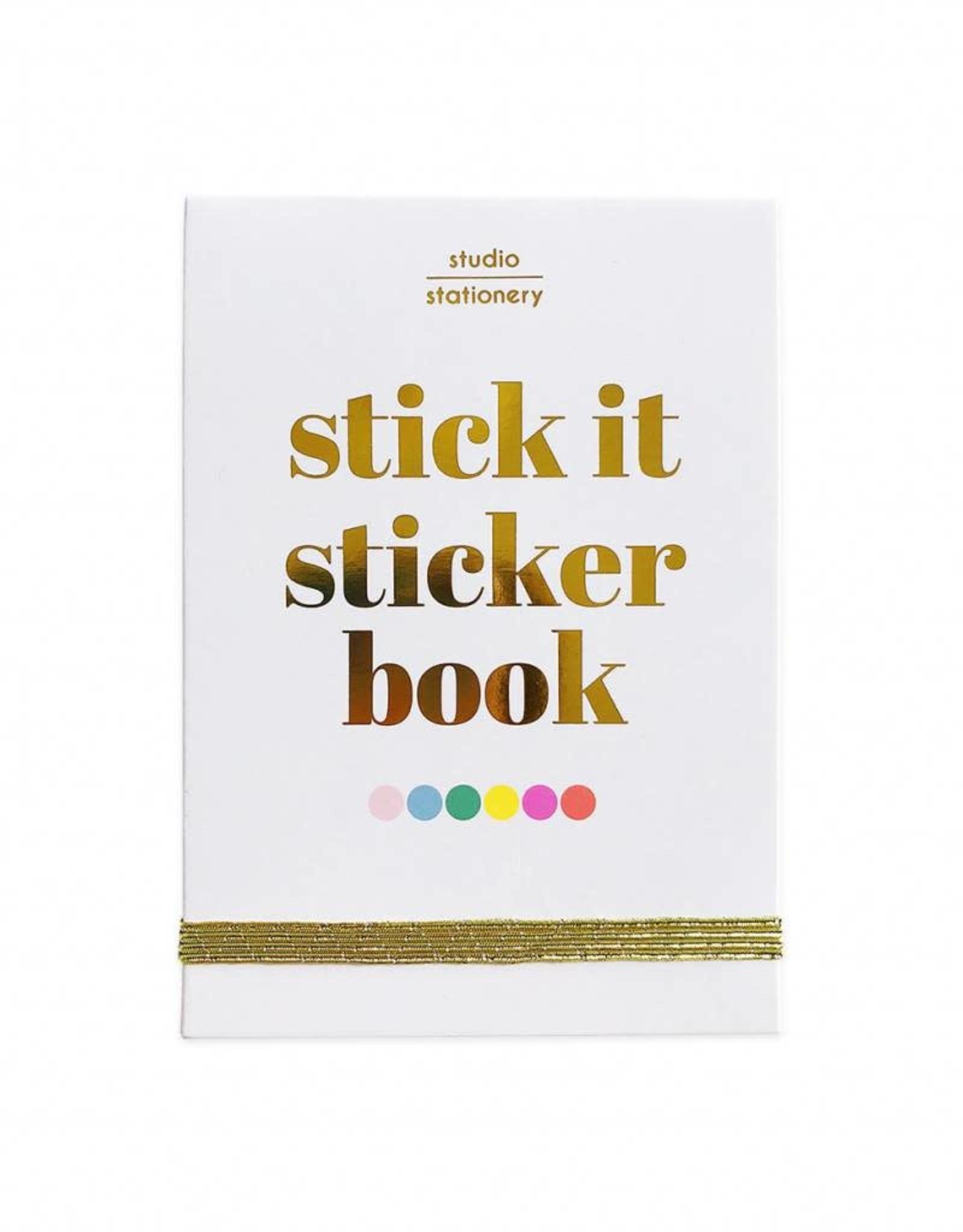 studio stationery Studio stationery stick it sticker book
