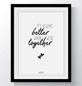Van Mariel kaart a6 Van Mariel: it's always better when we're together