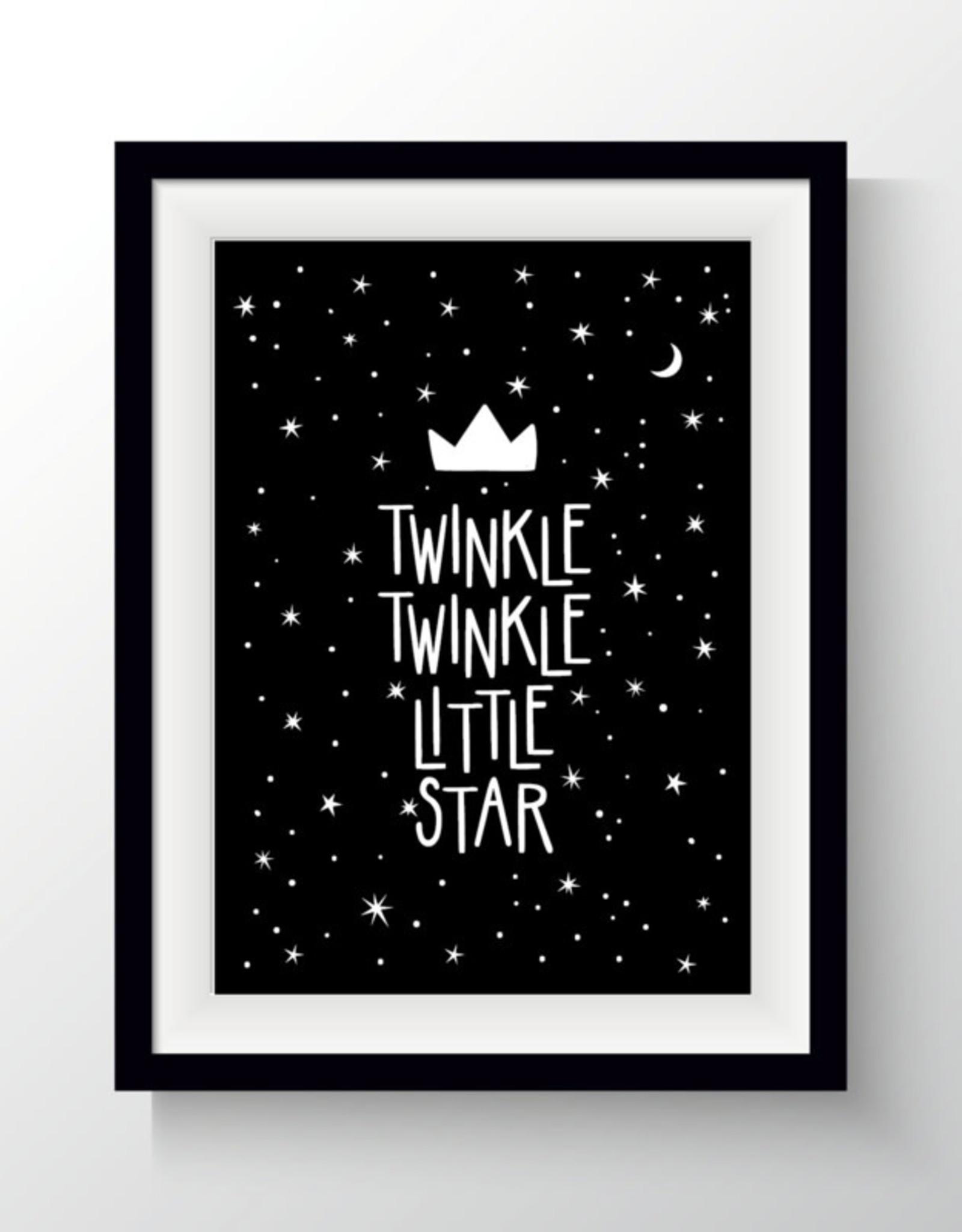 Van Mariel kaart a6 Van Mariel: twinkle twinkle little star