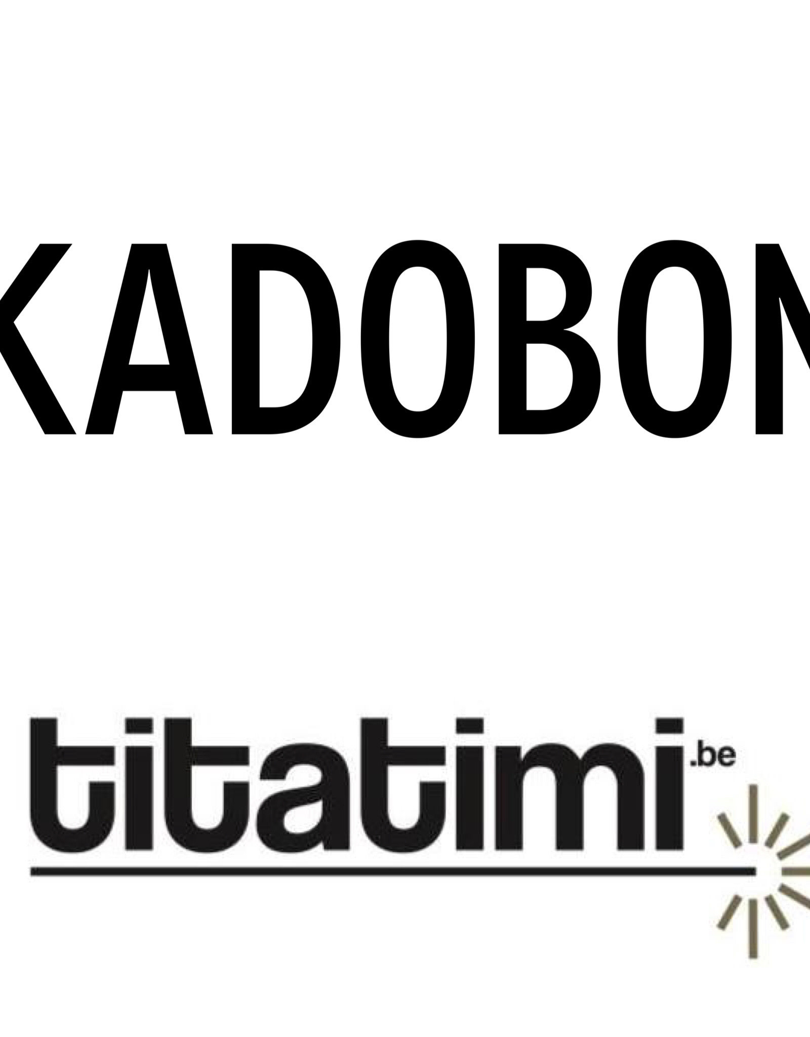 titatimi titatimi kadobon 75 euro