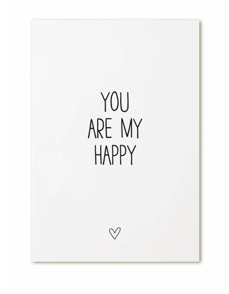 zoedt kaart a6 Zoedt: you are my happy