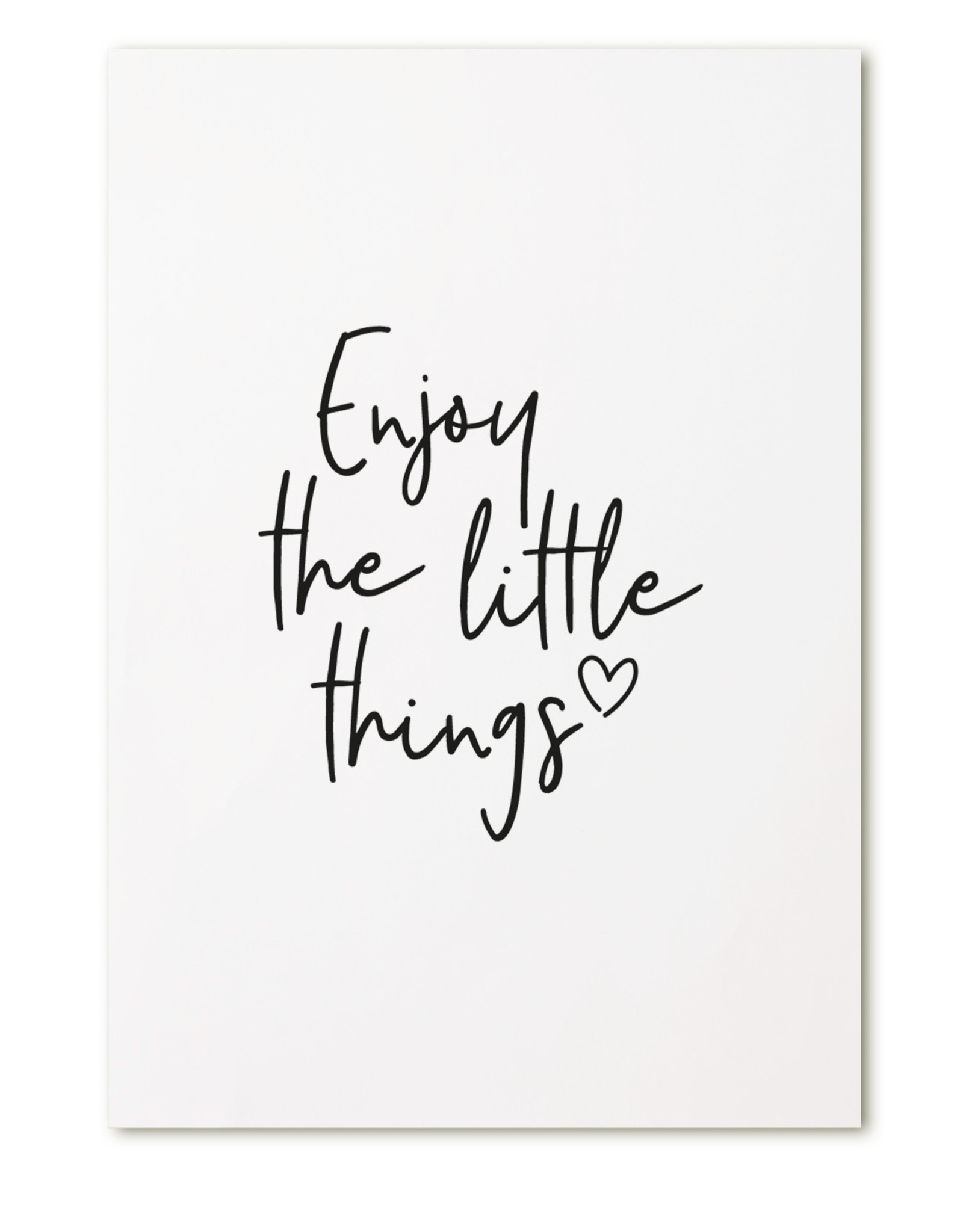 zoedt kaart a6 Zoedt: enjoy the little things