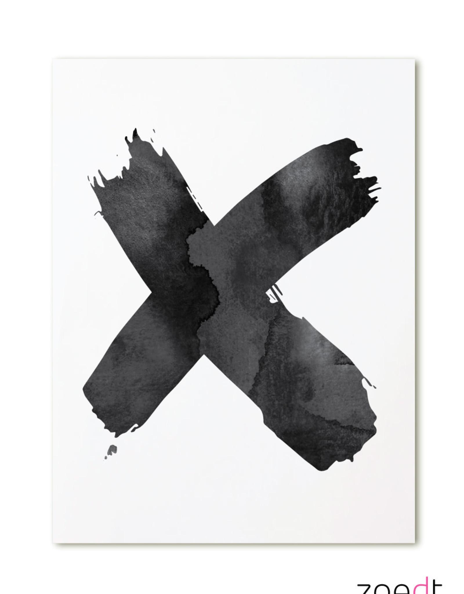 zoedt kaart a6 Zoedt: X