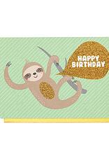 Enfant Terrible Dubbele wenskaart Enfant terrible: happy birthday aap