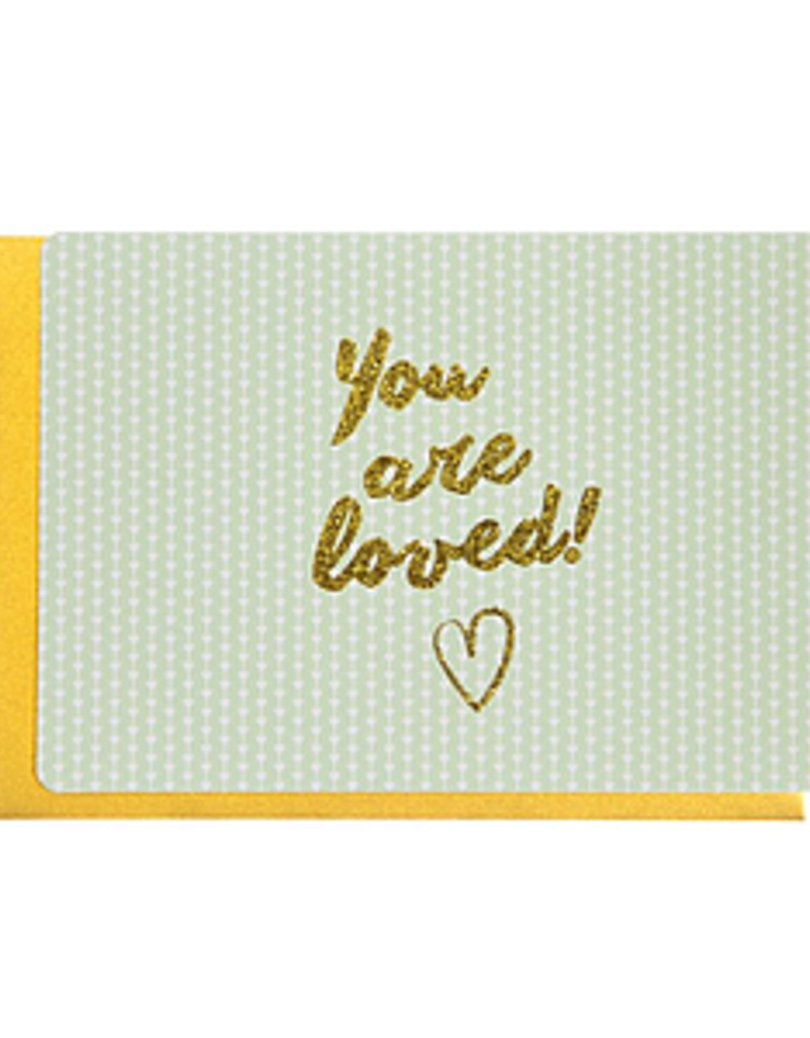 Enfant Terrible Dubbele wenskaart Enfant terrible: you are loved